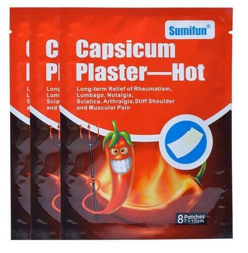 Capsicum plaster hot