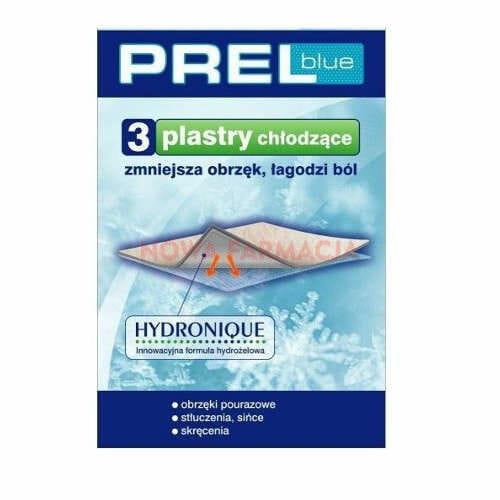 PREL blue plaster chlodzacy