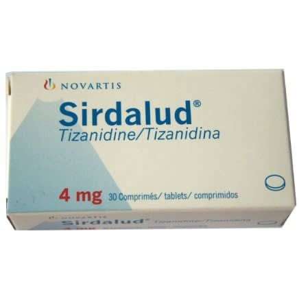 Sirdalud 4 mg