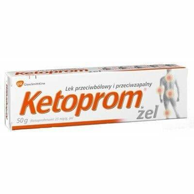 ketoprom zel