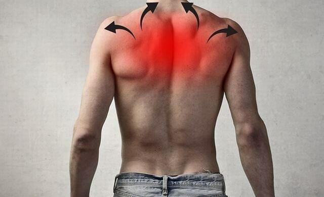ból łopatki